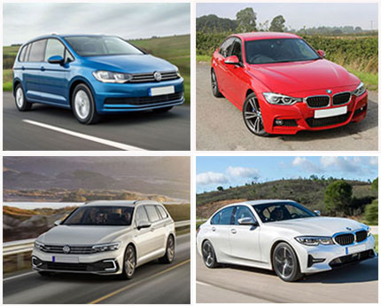 we have MVP cars, estate cars, saloon cars and executive cars